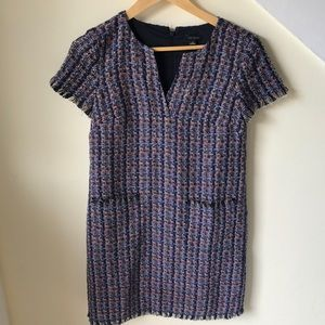 Multicolored Short Sleeve Dress by Ann Taylor